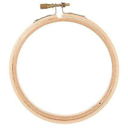 Wooden Embroidery Hoops - Round - 4 Inches