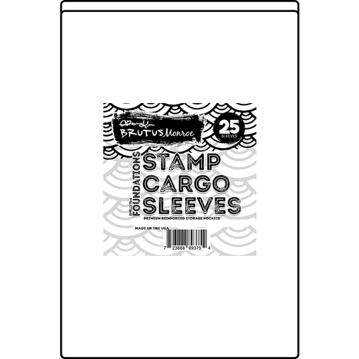 "Stamp Cargo Sleeves - 3.25"" x 4.375"" - 25 Pack"