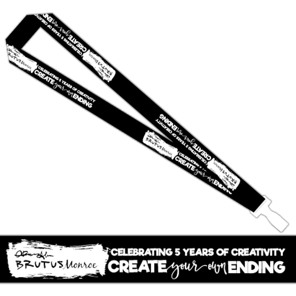 Brutus Monroe 5th Year Limited Edition Lanyard