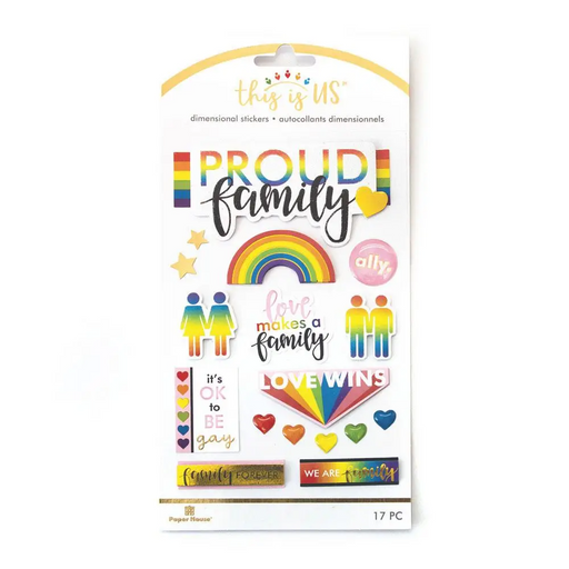 Proud Family Dimensional Sticker