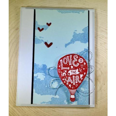 Clouds Background Stamp