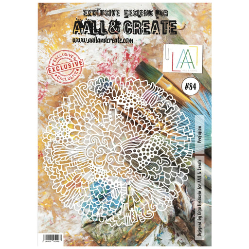 AALL & Create - A4 Stencil - Profusion