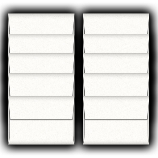 Whitewash-A2-Envelopes-10 Pack