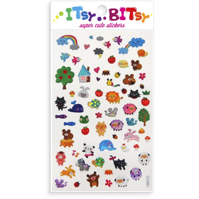 Itsy Bitsy Stickers - Animal Town