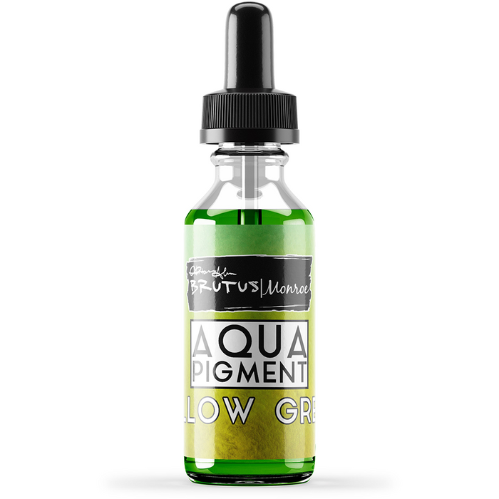 Aqua Pigment - Yellow Green