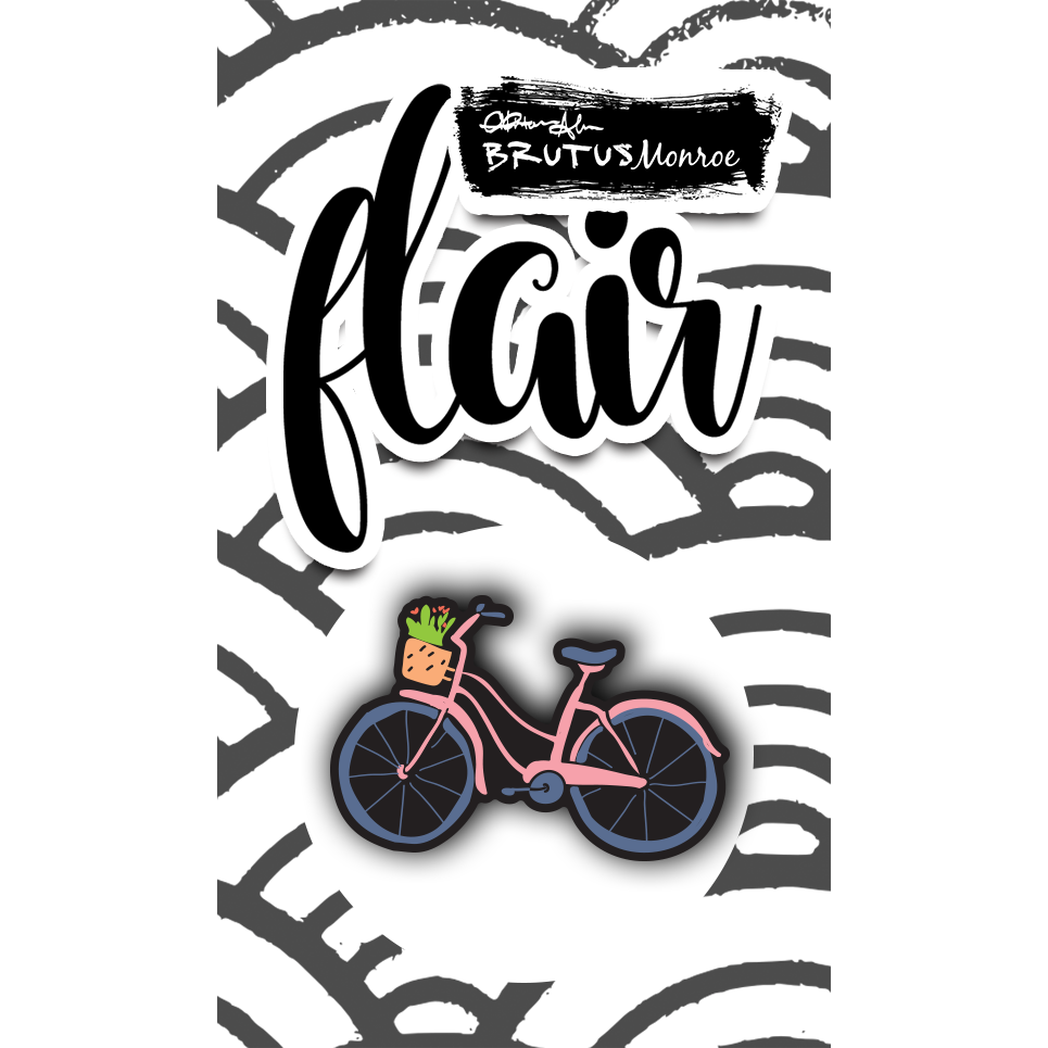 Blooming Bicycle - Enamel Pin
