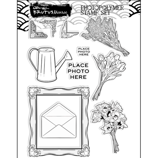Blooming Memories | 6x8 Stamp Set