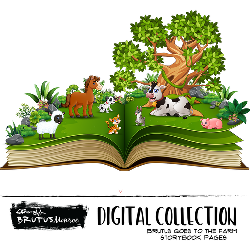 Brutus Story Book Printable Text - Brutus Goes to the Farm