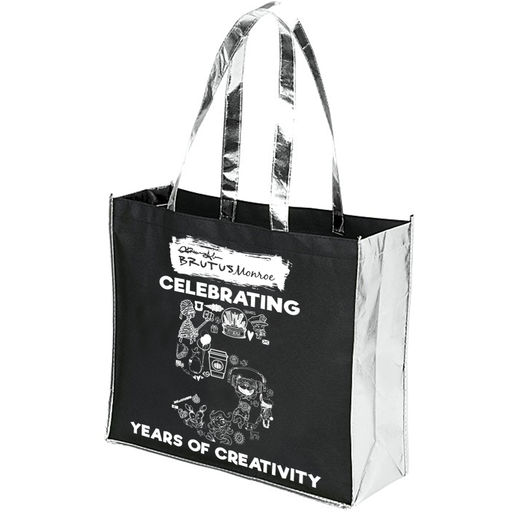 Brutus Monroe - 5 Year Anniversary Limited Edition Metallic Trim Shopping Bag