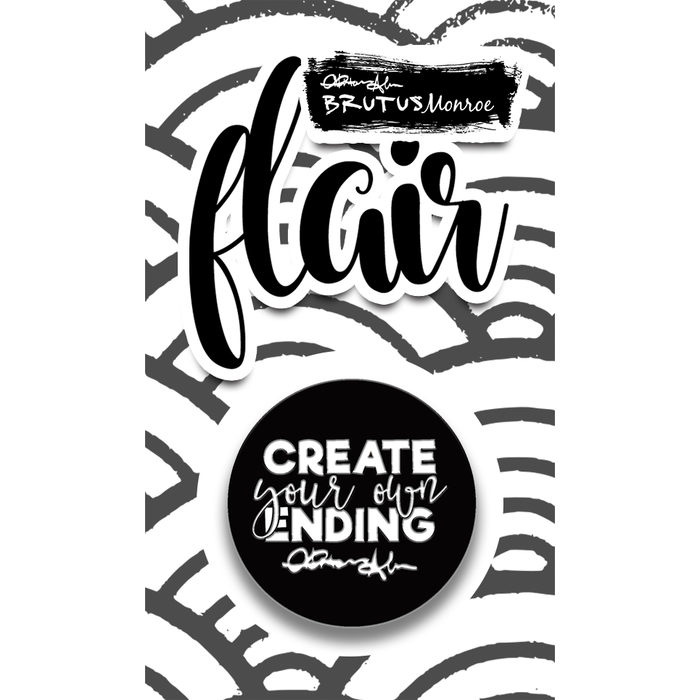 Create Your Own Ending Enamel Pin
