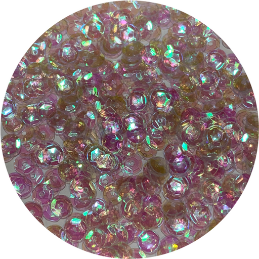 Clear Iridescent Sequins