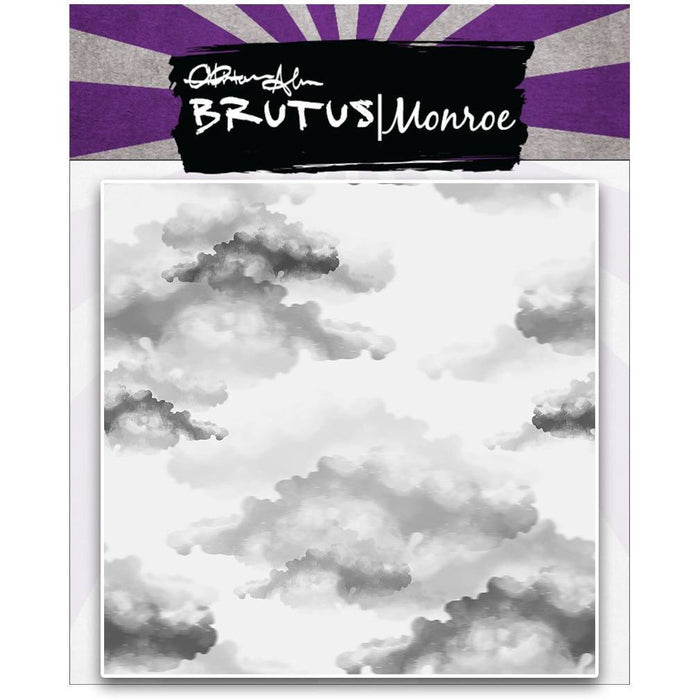Clouds - 6x6 Background Stamp