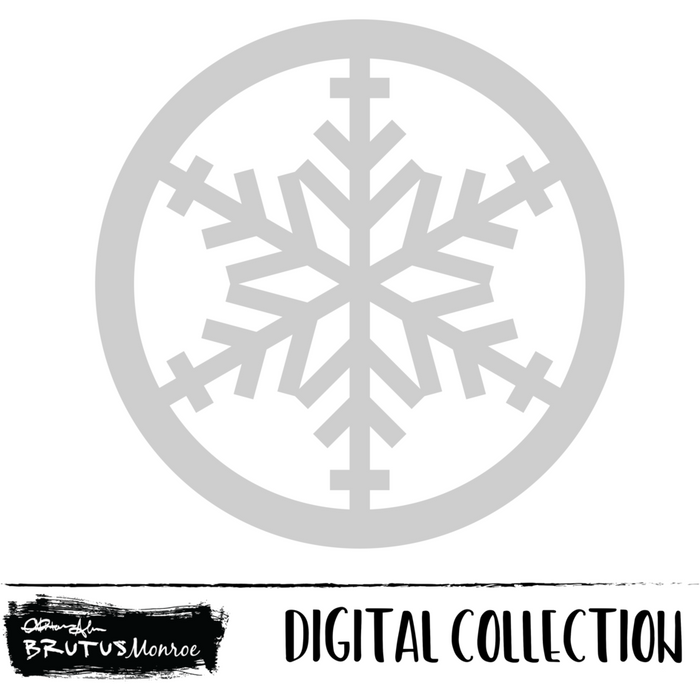 Comet - Snowflake Shaker - Digital Cut File