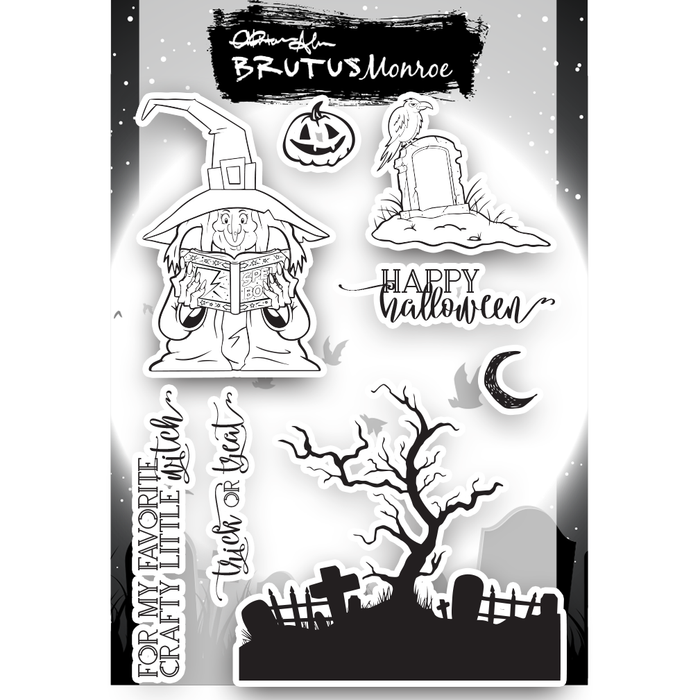 Crafty Witch - 6x8 Stamp Set