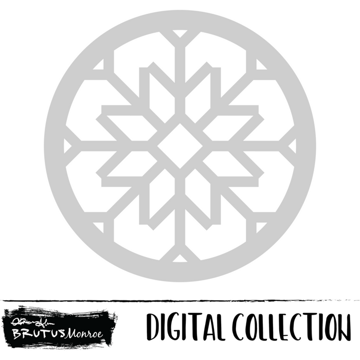 Dancer - Snowflake Shaker - Digital Cut File