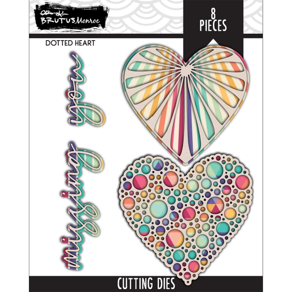 Dotted Heart - Cutting Die Set