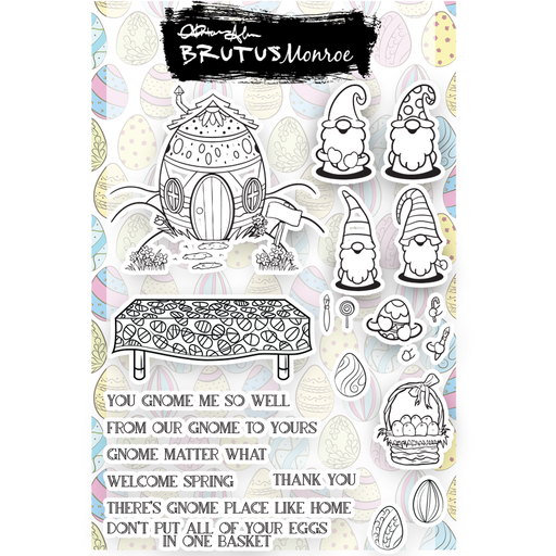 Eggcellent Gnomes - 6x8 Stamp Set