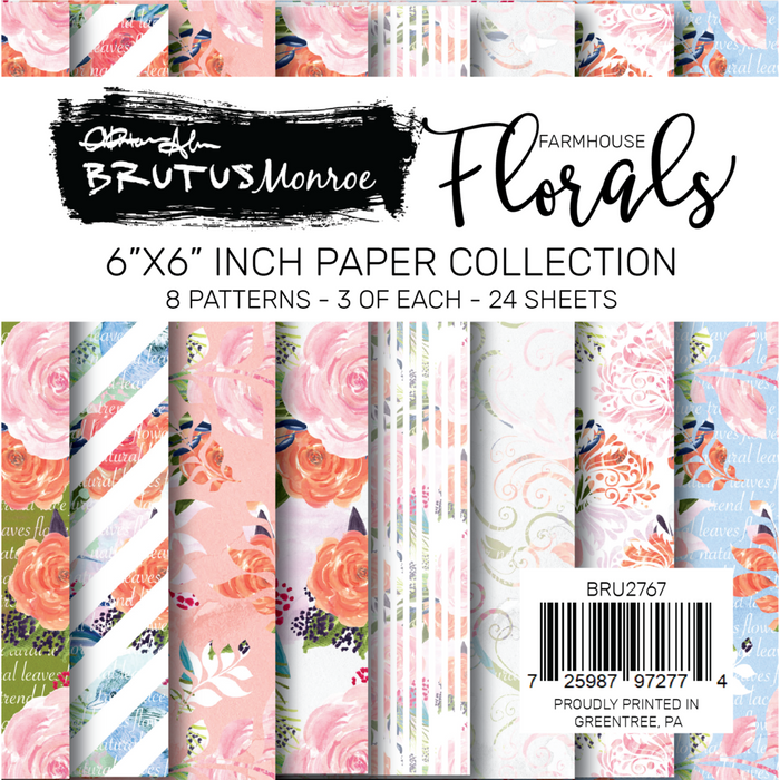 Farmhouse Floral Paper Pad