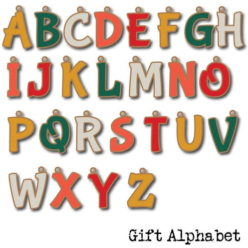 Gift Alphabet - Digital Cut File