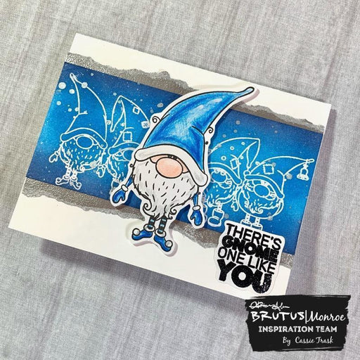 Gnome Place Like Home - 6x8 Stamp