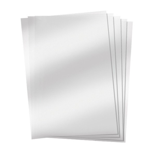 "Heat Resistant Clear Acetate - 4.25""x5.5"""