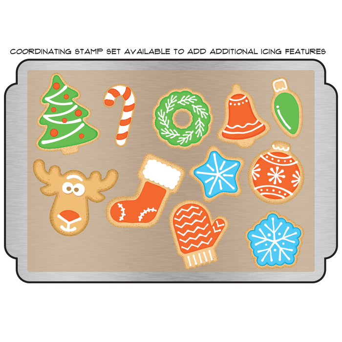 Holiday Cookie Die Set