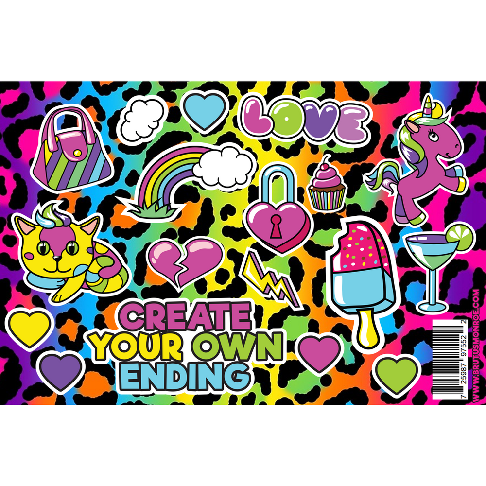 Homeroom Glow - Sticker Sheet
