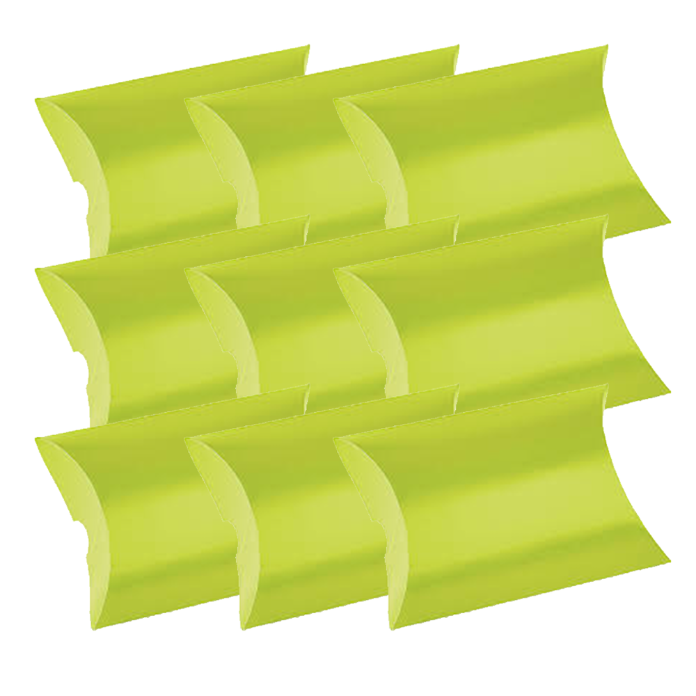 Pillow Boxes - Lime