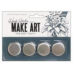Wendy Vecchi MAKE ART Stay-tion Replacement Magnets 4pc.