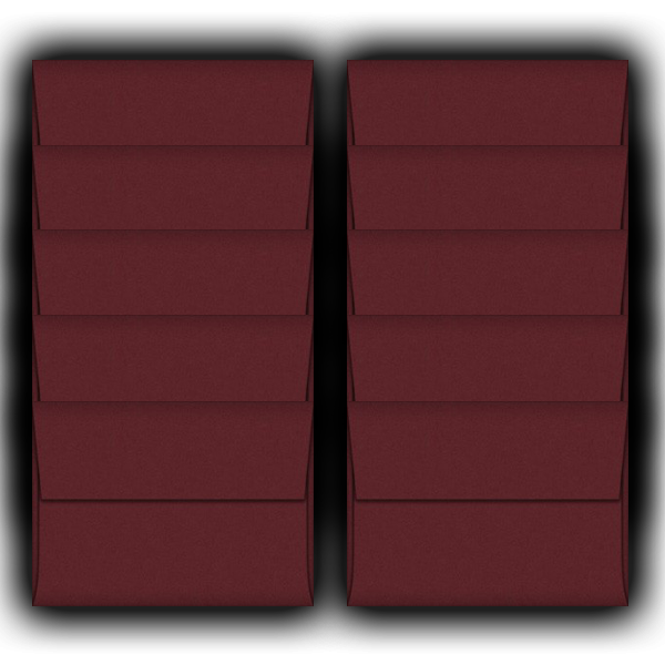 Marsala-A2-Envelopes-10 Pack