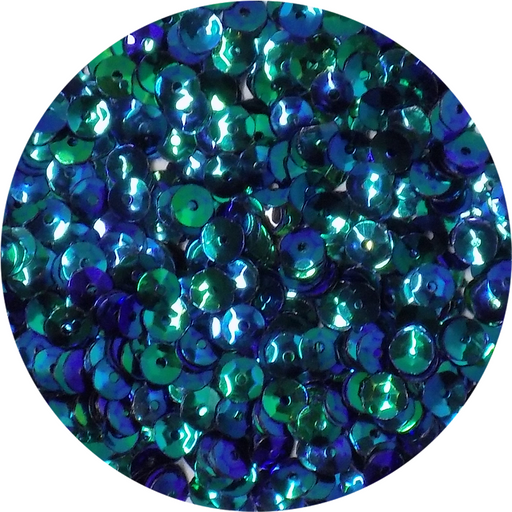 Mermaid Sequins - Blue and Green