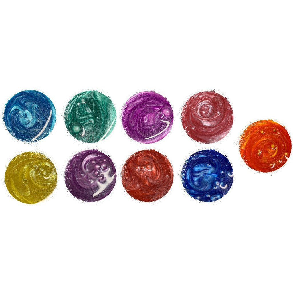 Aqua Pigment Metallics - Set One