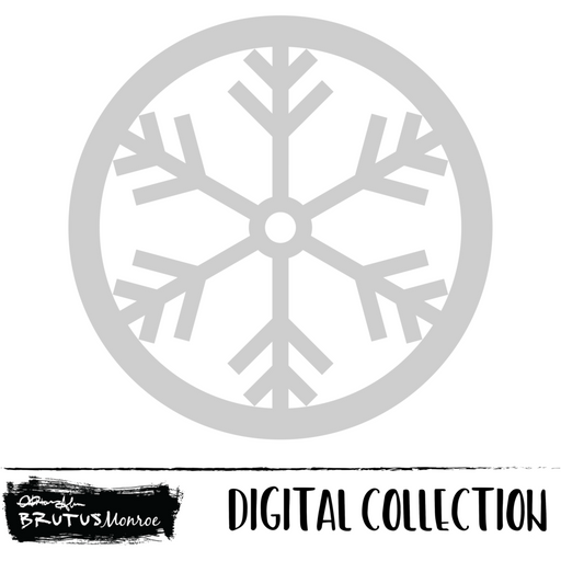 Prancer - Snowflake Shaker - Digital Cut File