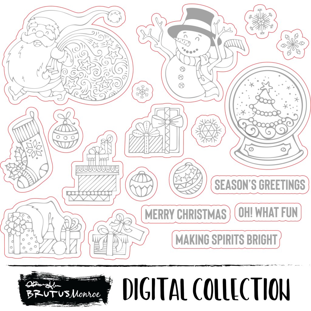 Holiday Essentials - Digital Cut File