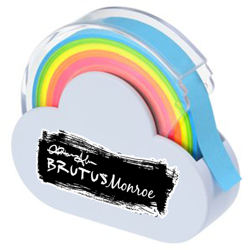 Brutus Monroe - Rainbow Masking Tape & Dispenser