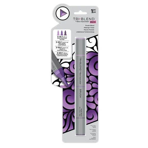 Spectrum Noir Triblend Brush Marker - Purple