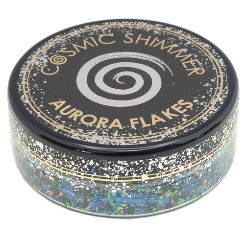 Cosmic Shimmer Aurora Flakes - Enchanted Forest