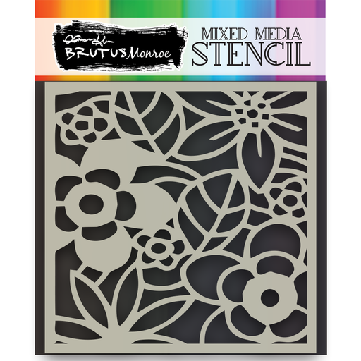 Mixed Media Stencil - Secret Garden