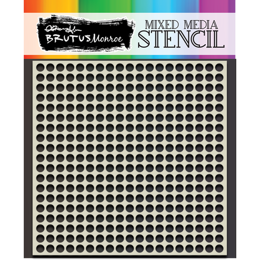 Mixed Media Stencil - Sequin Pattern Builder