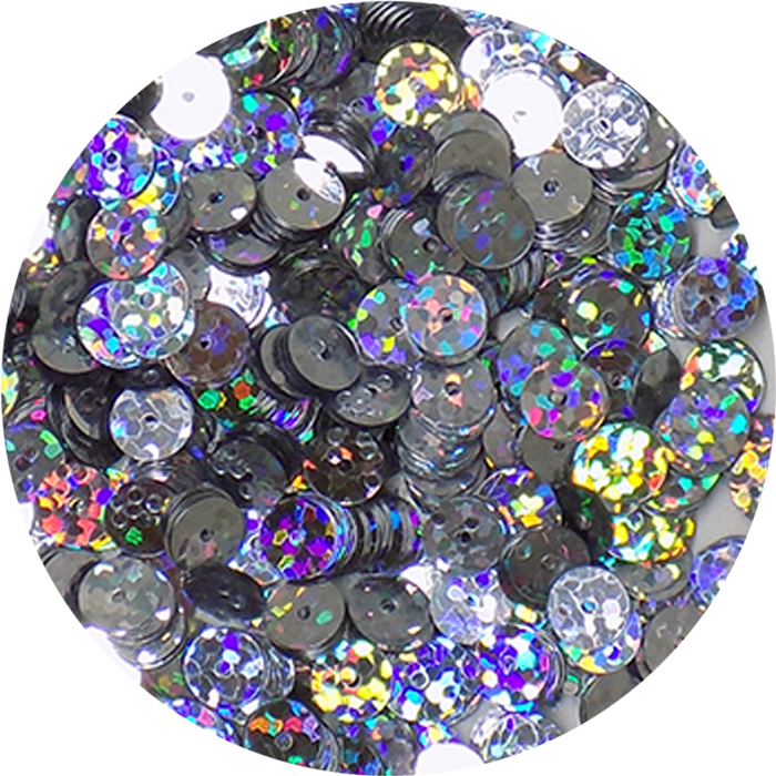 Prism Sequins - Silver