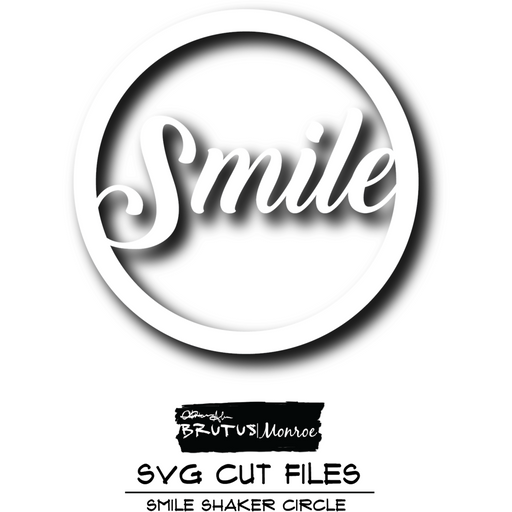 Smile Shaker - Cut File