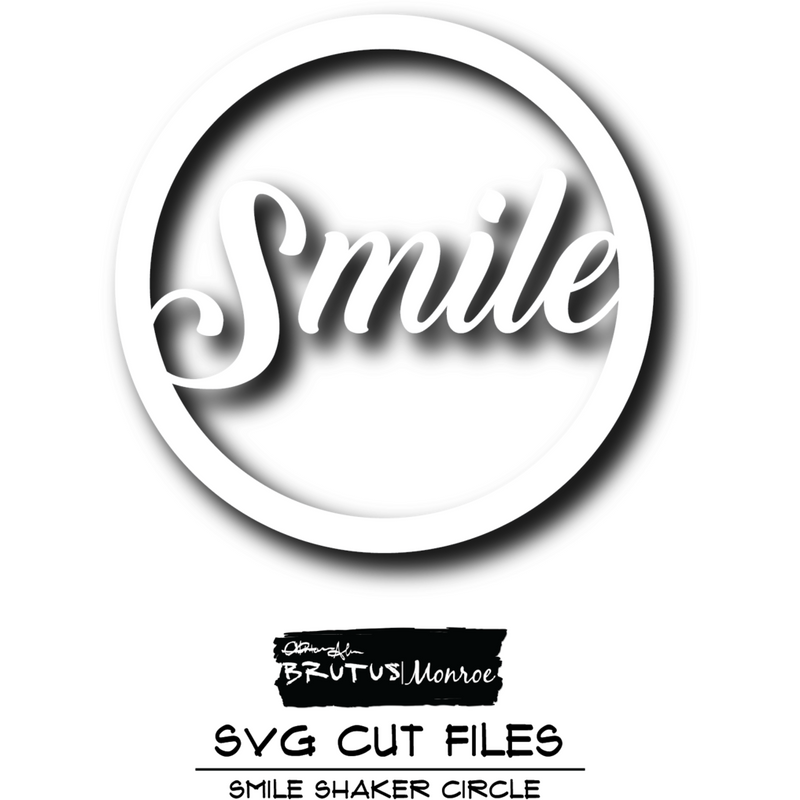 Smile Shaker - SVG Cut File