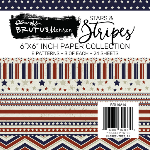 Stars and Stripes Paper Pad
