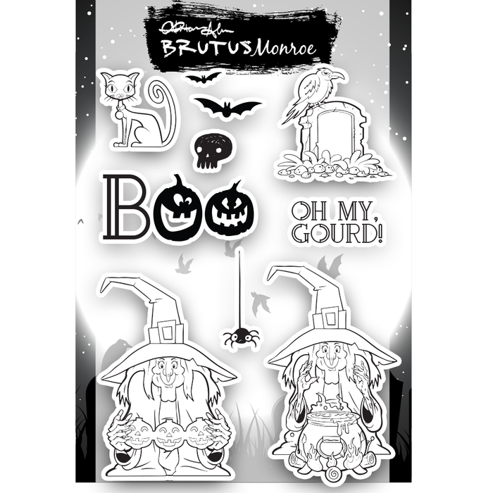 Witch's Brew - 6x8 Stamp Set