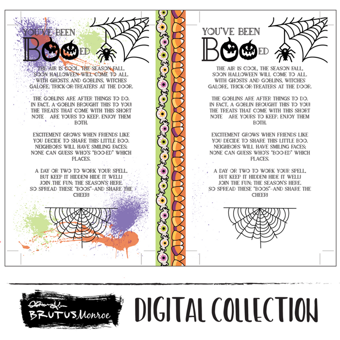 You've Been Booed - Printable