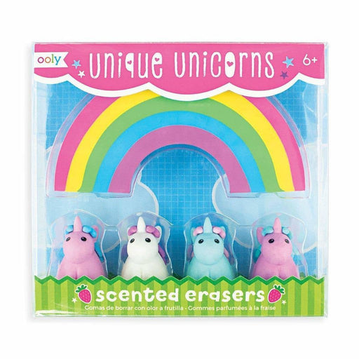OOLY - Unique Unicorns Scented Erasers - Set of 5