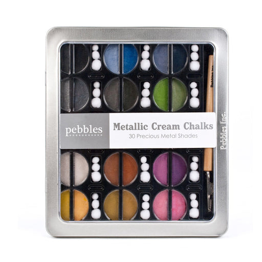 Pebbles Classic Chalks - Metallic Cream Shades