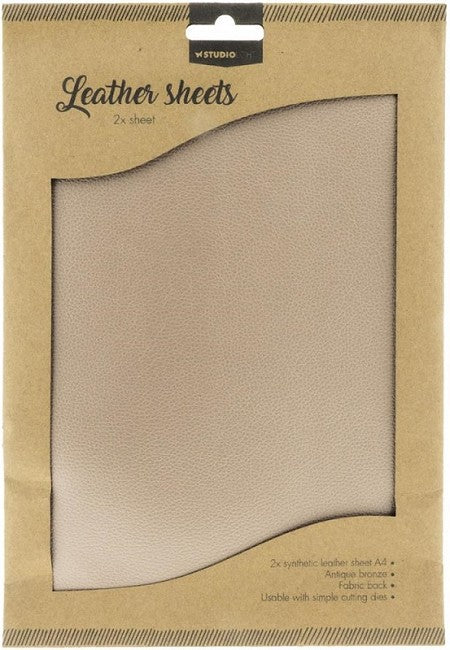 Studio Light- Leather Sheets- Antique Bronze