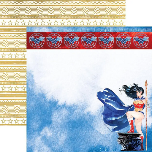 Wonder Woman Amazon Princess Foil Paper