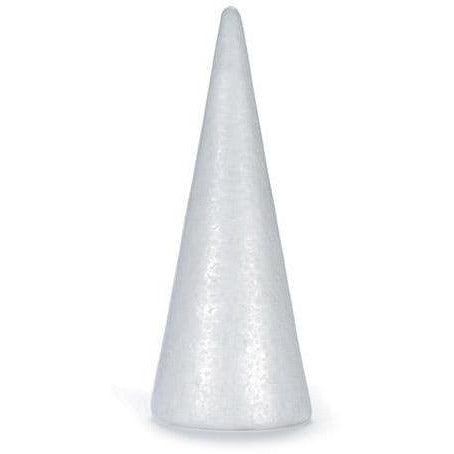 Durafoam Cone - White - 9.85 Inches